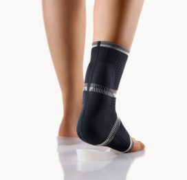 BORT AchilloStabil® Achilles Tendon Ankle Support Brace with 2 Silicone Heel Cups-0