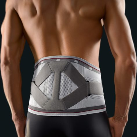 BORT select Stabilo® Back support with pad -156