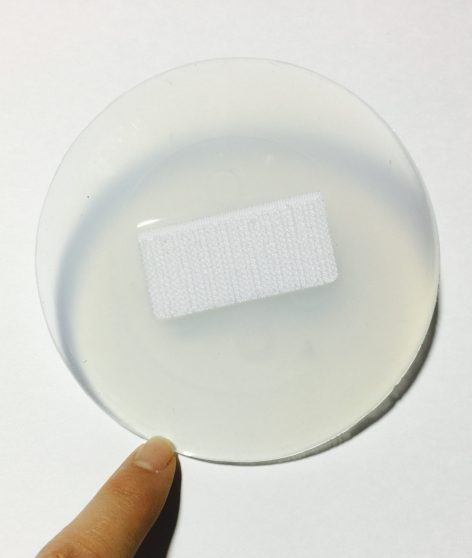Additional Silicone Pad for Umbilical Hernia Aid- Back