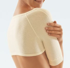 CLIMACare® Angora Wool Shoulder Warmer- For Arthritis & Cold Sensitivity -0
