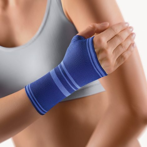 BORT Wrist Support with Hemmed Thumb Opening -0