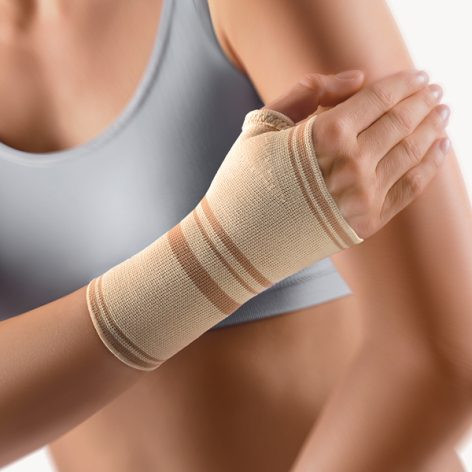 BORT Wrist Support with Hemmed Thumb Opening -80