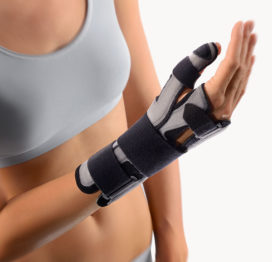 BORT SellaTex® Plus- Wrist Hand Brace and Thumb Fracture Splint-0