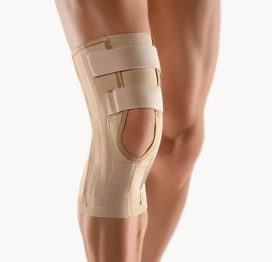 BORT Stabilo®Knee Support with Special Extra Width for Larger Thighs-0