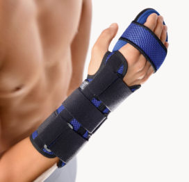 BORT Soft Hand Wrist Brace with Adjustable Finger Support, For Arthritis & Carpal Tunnel -0