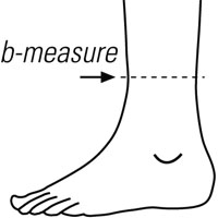 Ankle Measurement Point
