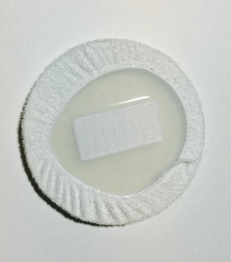 Pad & Cover Included, Back